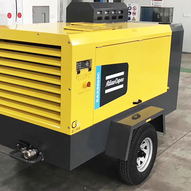 Atlas Copco Versatile Diesel Air Compressors 275-784 cfm (7-14 bar)